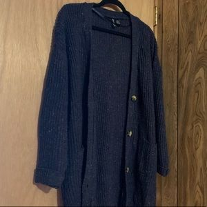 Free For All Gorgeous Blue Cardigan